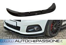 Splitter/Spoiler anteriore Fiat Grande Punto Abarth 07>10 lip lama V2