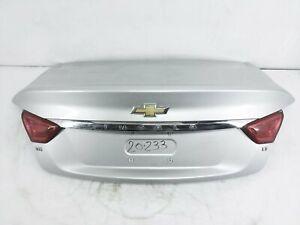 2017 2018 2019 2020 Chevrolet Impala Trunk Lid Rear Deck 23203565 Silver