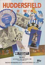 Huddersfield Town V enterrar partido de Liga 90-91