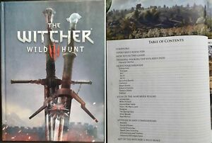 The Witcher 3 Wild Hunt Official Collector's Edition Strategy Guide Walkthrough