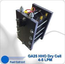 HHO DRY CELL 316L Big 25 PLATES - HYDROGEN GENERATOR - GA25
