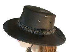 Chapeaux cow-boy/western en cuir pour homme