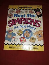 New listing 1993 Consumer Guide Meet The Simpsons