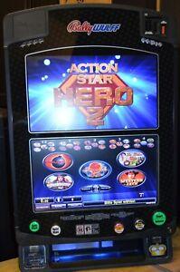 Action Star Hero II Wide Wall Geldspielgerät Geldspieler für Privat