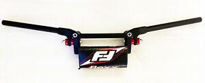Fasst Flexx 10 Degree Bend Enduro Handlebars Dirtbike Bars Red Pad Fast Flex