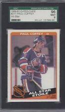 1984-85 OPC hockey card #217 Paul Coffey, Edmonton Oilers SGC 96 MINT 9 beauty