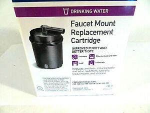 Filter Faucet Mount Culligan Replacement Cartridge Purifier New In Box