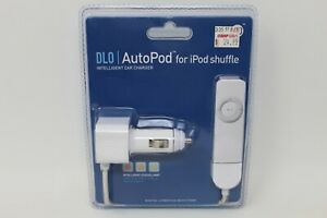 DLO Auto Pod Autocharger For ipod shuffle white NEW IN BOX