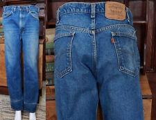 Vtg 1970's Levi Orange tab Perfect Fade slouchy boyfriend denim jeans  32/30.5
