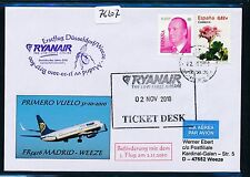 76207) Ryanair 3.Flug Madrid - Weeze/Düsseldorf 31.10.2010, SoU Orchid