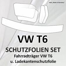 Schutzfolie set Fahrradträger Radträger Heckträger u. Ladekante VW Bus Bully T6
