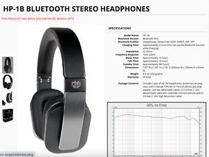 HP-1B Bluetooth STEREO HEADPHONES