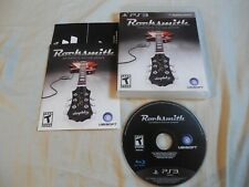 PS3 Playstation 3 Rocksmith Authentic Guitar Games, 2011 (No Cable)