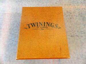 Twinings Wooden Tea Box