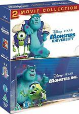 MONSTERS INC / UNIVERSITY DVD Movie Collection Part 1 2 Original Disney New