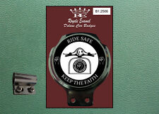 Royale Classic Car Badge & Bar Clip RIDE SAFE KEEP THE FAITH NORTHERN B1.2506