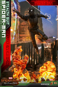 Hot Toys Spider-Man: Far From Home STEALTH SUIT DELUXE VERSION MMS-541 IN STOCK