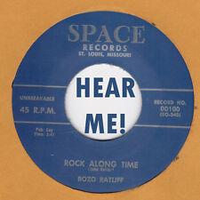ROCKABILLY REPRO: BOZO RATLIFF - Rock Along Time/Let Me In SPACE  2 KILLER SIDES