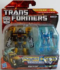 HUFFER with CALIBURST Transformers Power Core Combiners 2-pack 2010