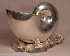 Antique Elkington & Co. Silver Plated. Nautilus Shell Design Spoon Holder