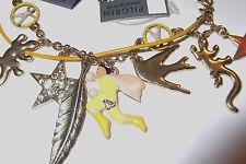 """PILGRIM Danish Charm Bracelet, Whimsical Critters, Enamel & Crystal6.25-8"""",NWT"""