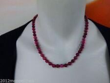 Halsketten mit Edelsteinen Kunzit echten für Damen