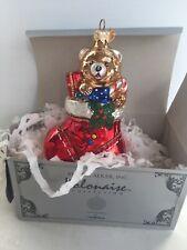 Kurt Adler Polonaise Boot With Presents Gp375 Glass Ornament ~Nib