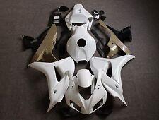 Unpainted Raw ABS Injection Bodywork Fairing Kit for HONDA CBR1000RR 2006 2007