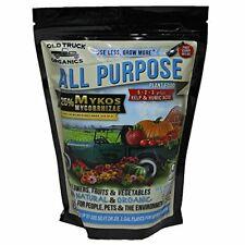 New ListingAll Purpose 5-2-3 Organic Fertilizer with Mykos Mycorrhizae, 2.2 Pound Bag