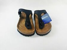 Birkenstock Gizeh Sandals - Black- Made in Gemany - Size Euro 36
