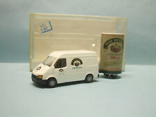 Rietze - FORD TRANSIT MAURITIUS BIERE BEER + REMORQUE Camionnette 80090 NB0 HO