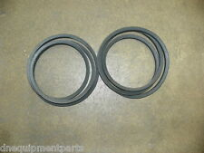 Set of Two (2) Replacement Belts for Howse/HICO Finish Mowers 6' CHB81 Fits C372