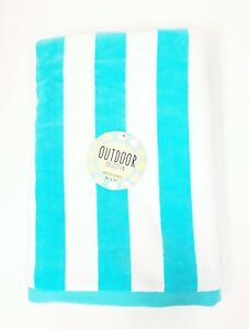 """NEW OUTDOOR COLLECTION STRIPES,100% COTTON,SOFT VELVETY BEACH,BATH TOWEL 36""""x70"""""""
