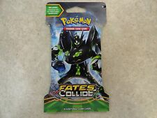 NEW SEALED Pokemon TCG: XY-Fates Collide booster pack 10 Game Cards 153-80114