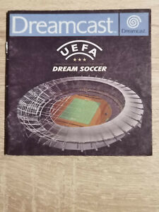 UEFA Dream Soccer Sega Dreamcast (Manual Only)