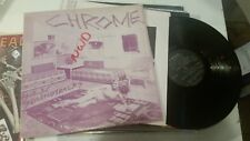 Chrome Alien Soundtracks LP orig siren w/inner 1977 DE21-22 SEC helios creed !!