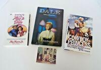 3 Autographed Roy Rogers Dale Evans Books 1971-2003 Cowboy Princess Estate Lot