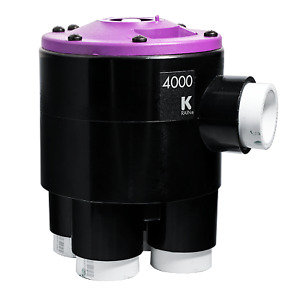 K-Rain 4000-SERIES CAMMED (RCW) INDEXING VALVE 25mm 4-Outlet- 2, 3 Or 4 Zone