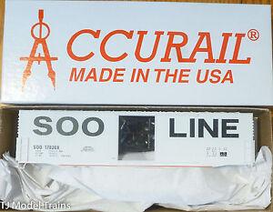 Accurail HO #5824 (Rd #178268) Soo Line (50' Plug Door Steel Box Kit)