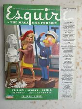 Esquire Magazine - September 1944 with VARGA Foldout, WWII