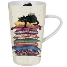 Grande tasse Chat coussin Jane Crowther Bug Art