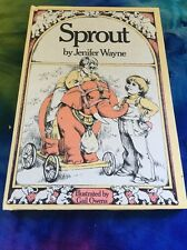 Weekly Reader Children's Book Club: Sprout By Jenifer Wayne 1970 Hardcover Book