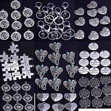 Wholesale 10X Bulk Lots Tibetan Silver Beads Charms Pendants Jewelry Diy Making