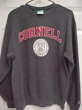 CORNELL UNIVERSITY AD 1865 Big Red  Men Dark Gray Sweatshirt Fleece M Champion