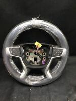 18 2018 CHEVROLET Traverse front steering wheel dark gray grey OEM