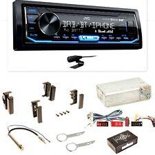 JVC KD-X451DBT DAB+ Bluetooth Einbauset für Audi A4 B5 A6 4B C4 A8