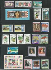 FIJI, MHG COLLECTION OF ISSUES OF COMPLETE SETS, SINGLES & SOUVENIR SHEETS
