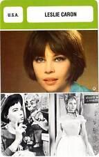 FICHE CINEMA :  LESLIE CARON -  USA (Biographie/Filmographie)
