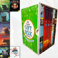 Erin Hunter Collection Warriors Series 6 Books With Journal Gift Wrapped Slipcas