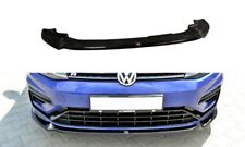 FRONT DIFFUSER VER.3 (GLOSS BLACK) VW GOLF MK7 R FACELIFT (2017 - UP)